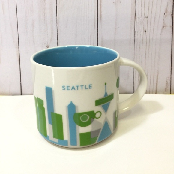 Starbucks Coffee Mug Seattle You Are Here